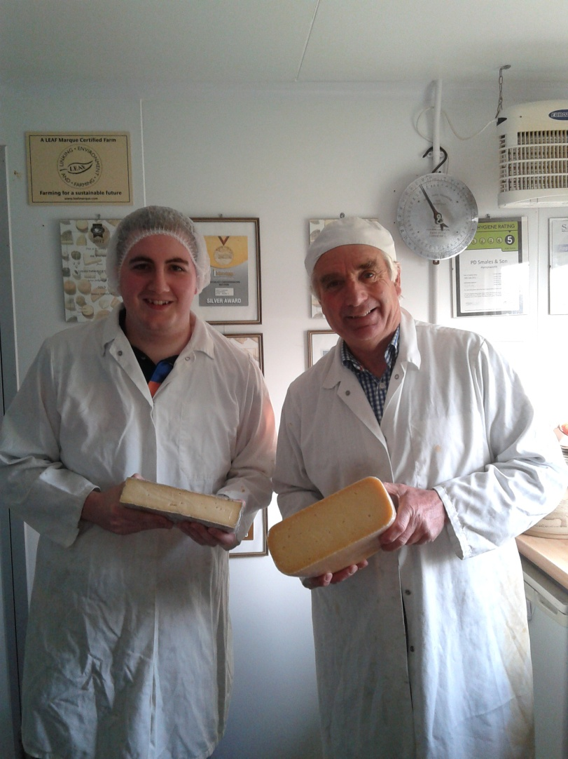 Myself & Mike (Lyburn Cheeses)