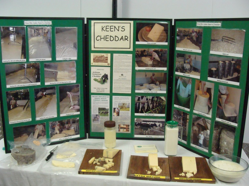 A cheese tasting session. Yummy!