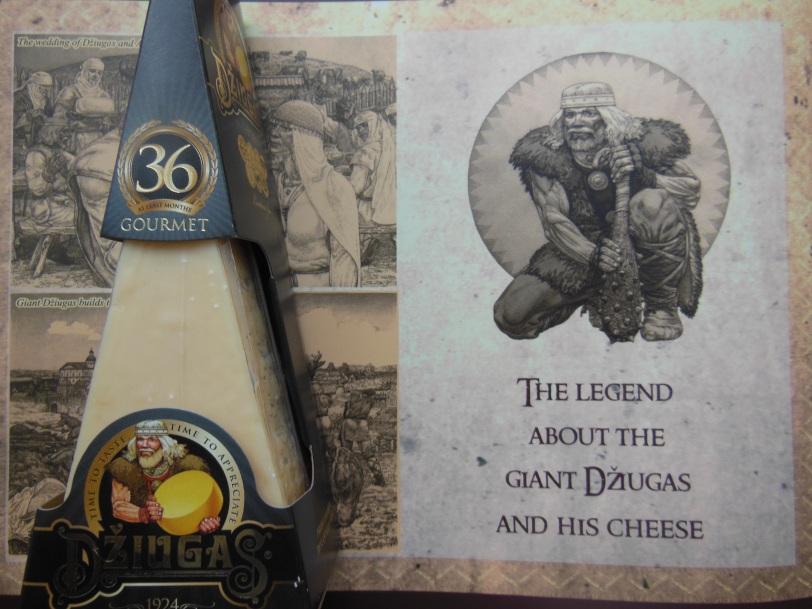 Dziugas 36 month-aged cheese