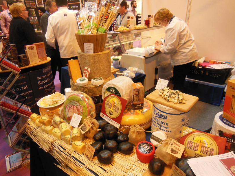 Michael Lee cheese display