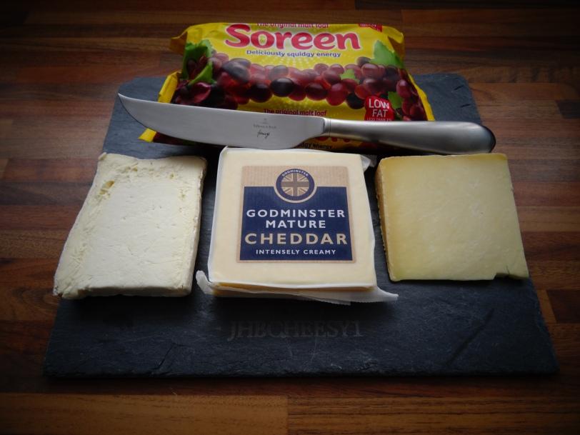 Malt Loaf VS Cheese board