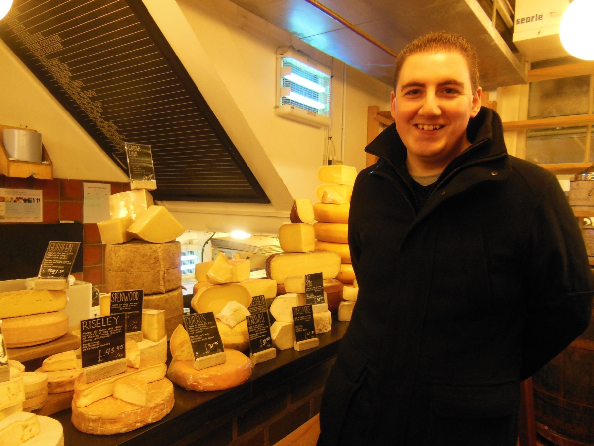 A cheesy trip to Neals Yard Dairy, Covent Garden