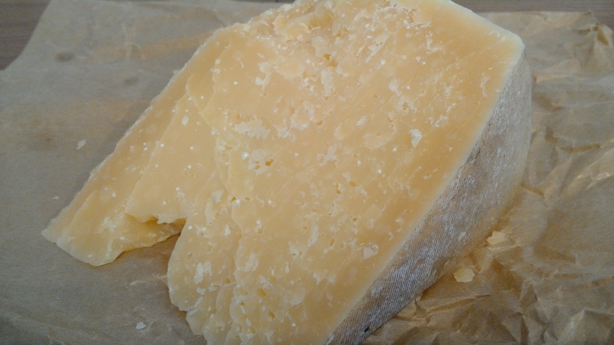 The Italian Hard Cheese with no name