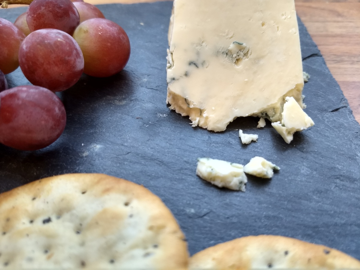 Cheese Of The Month: Ignite your cheese taste buds with Sparkenhoe Blue.