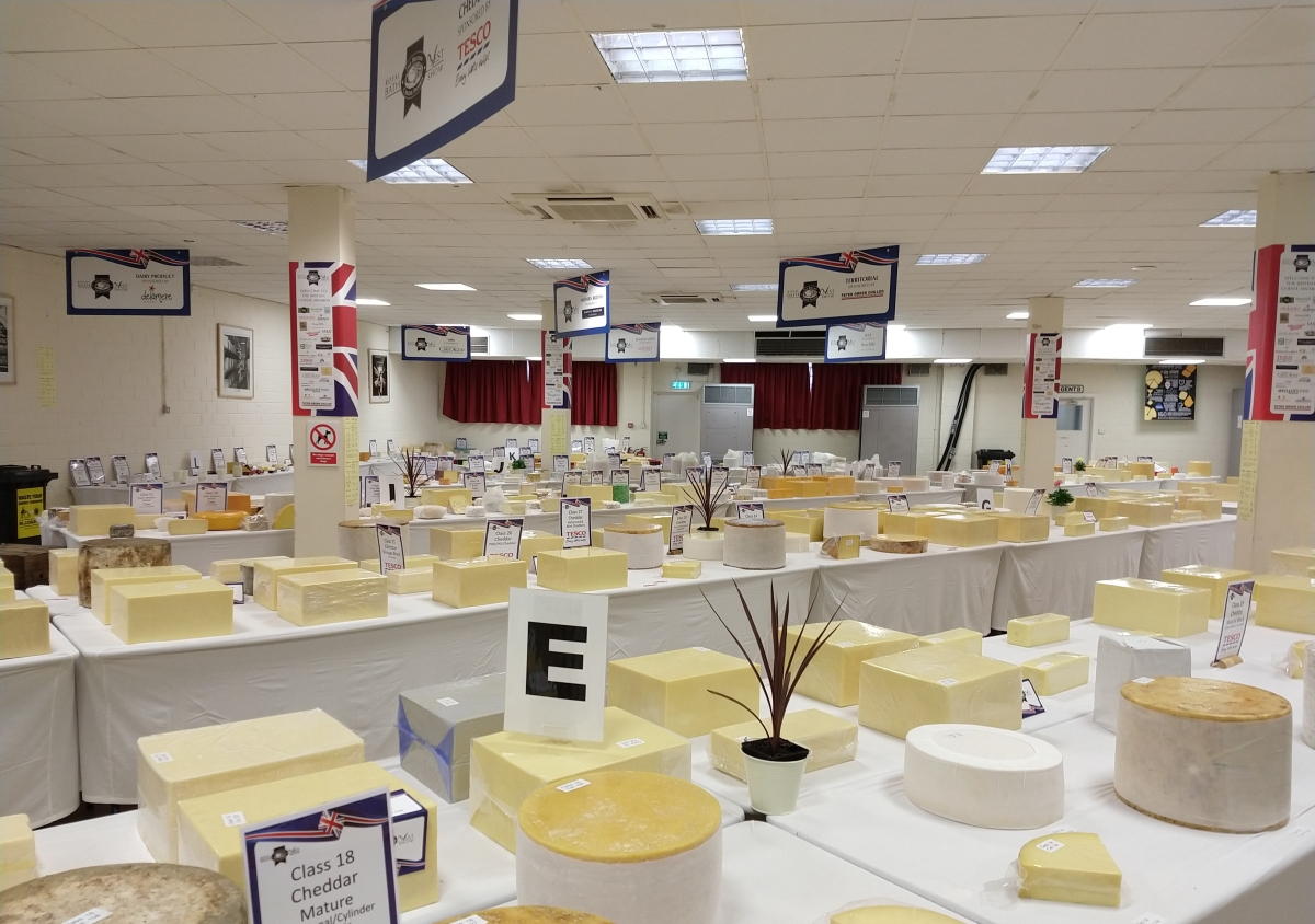 Another fantastic British Cheese Awards at Royal Bath & West Show 2018.