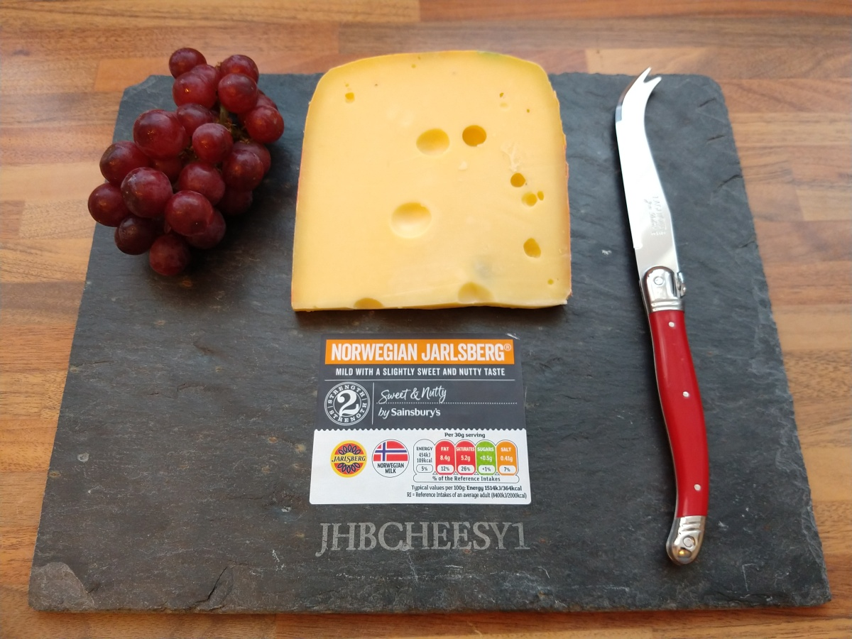 The secretive sweet & nutty Jarlsberg